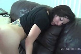 Anal with naughty skinny girl pounding everything