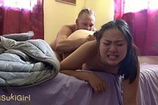 Beautiful Chinese young girl having sex too much