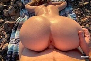 Beautiful Woman Having A Good Time On The Mountain Xvid Videos