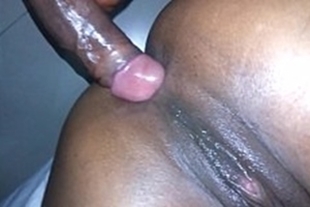 Black guy getting assfucked in the ass