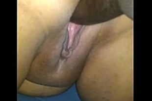 Black guy getting fucked in hot pussy