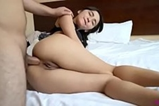 Chinese giving ass very horny