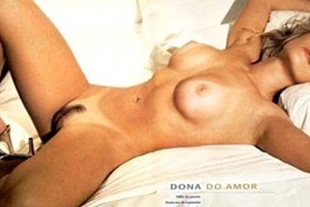Deborah secco hot without clothes showing her hairy pussy