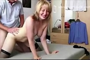 Hot MILF fucking on all fours