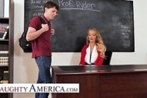 Hot Naughty Teacher Gets Her Student