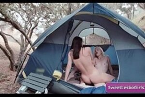 Lesbians Fucking In The Tent At Camp