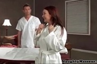 Masseuse has sex with a very beautiful client