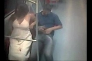 Metro sex with two naughty guys crazy for sex