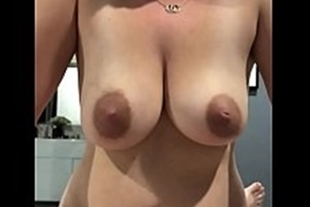 Naked babes showing their milf boobs