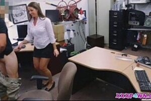 Naughty Boss Fucking The Hot Secretary