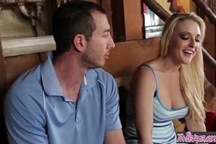 Naughty girl fucking with her brother-in-law in the porn log
