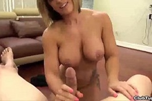Naughty in the hot blowjob in the cock of the friend