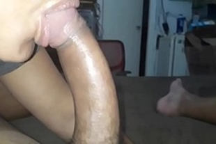 Naughty sister-in-law paid a blowjob