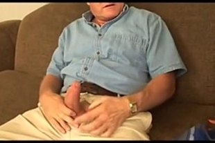 Old man having anal sex with hot blonde