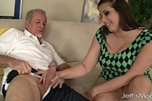 Old pervert video with beautiful chubby girl