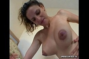 Porn of madam with several males