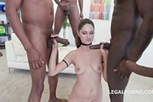 Porn video bang with white delight
