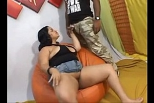 Porn video of chubby bitch