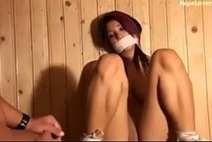 Porn video of force with kitten in the sauna