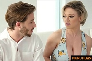 Porn video of the hot mother-in-law taking her son-in-law