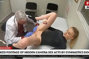 Pretty Blonde Giving It To The Doctor