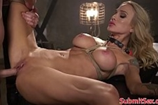 Sarah jessie getting fucked all over by a gifted
