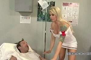 Sex Nurse Giving Gifted Patient