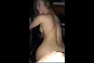 Sex video getting into the hot blonde