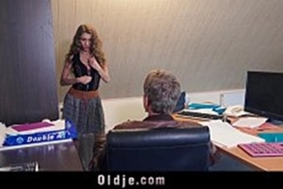 Sex with beautiful pornstars with boss