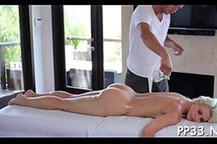 Sex with masseuse fucking client