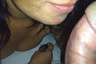 Sex with naughty brunette mature sucking and sitting in the dick
