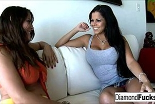 Two hot MILFs having a great time