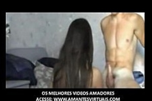 Very good porn video on the internet with an amateur couple fucking a lot