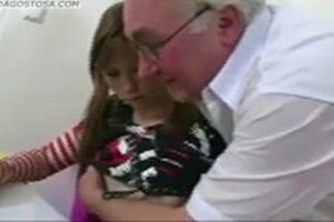 Very Horny Old Man Fucking A Young Granddaughter
