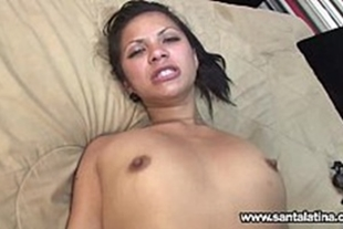 Very tasty anal latina with gifted guy