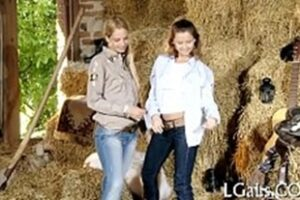Video Of Hot Lesbian Getting Fucked In The Farm Barn