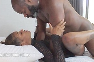 Video sextibe with a hot black girl