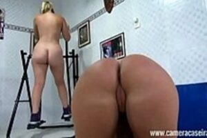 Videos Of Naked Blondes Doing Exercises