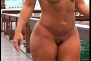 Viviane araujo pono all without clothes showing that she is super hot