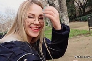 Vvideo public sex with naughty blonde