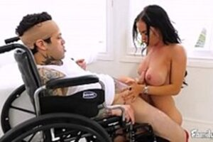 Woman Having Sex With A Wheelchair Man