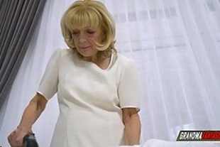 fucking dirty grandma who was all wet