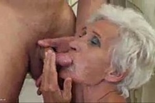 fucking granny's ass naughty by sex