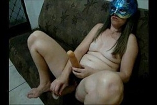 Naughty wife fucking husband and breaking into his ass